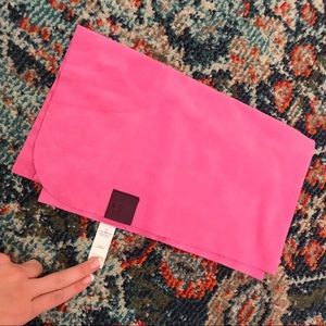 Lululemon pink workout/yoga towel